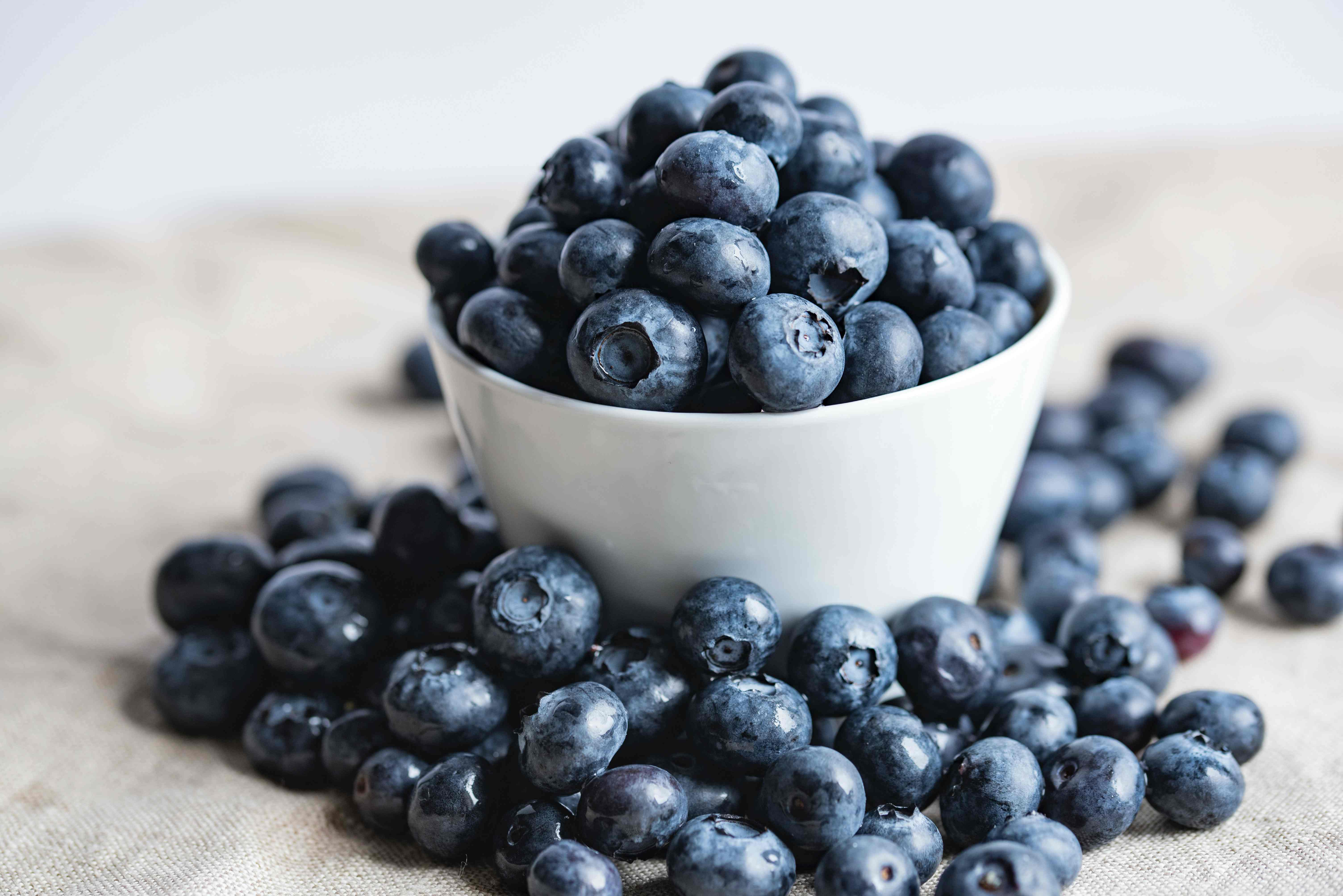 blueberries snack
